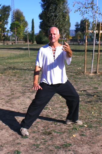 Tai Chi Chuan stile Yang - Forma a mani nude 103 movimenti: Afferrare la coda del passero – Peng
